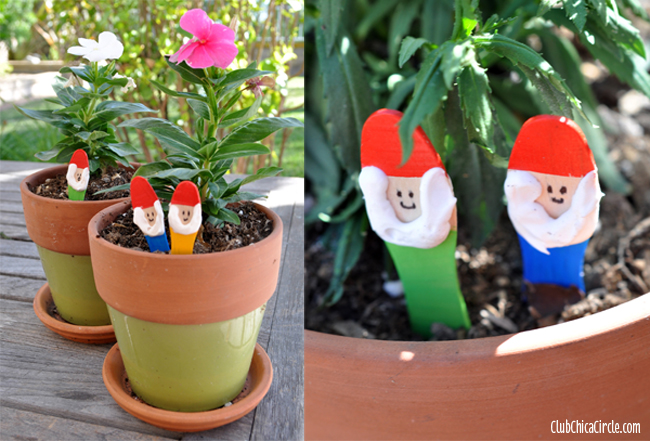 easy garden gnomes craft idea for kids