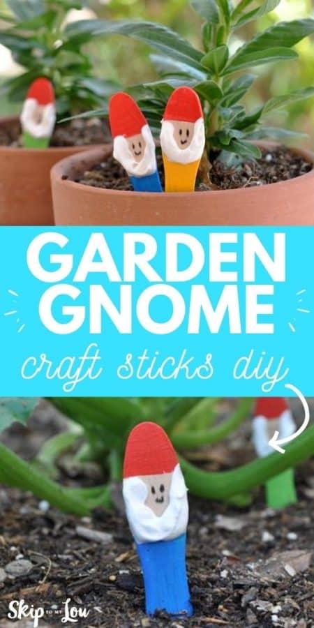 garden gnome craft PIN