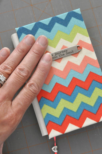 how to cover a book handmade bookcloth