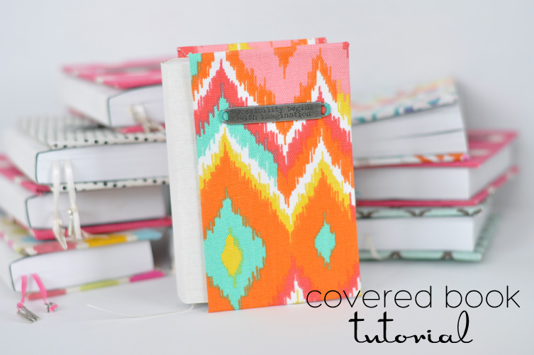 Paper Bag Book Cover Tutorial ~ Easy covered books tutorial skip to my lou