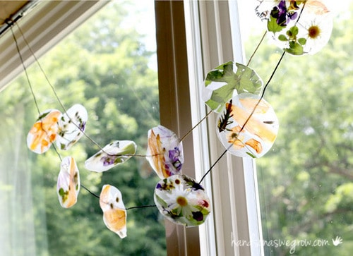 Nature Sun Catcher Garlands Skip To My Lou