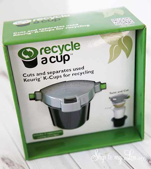 recycle a cup
