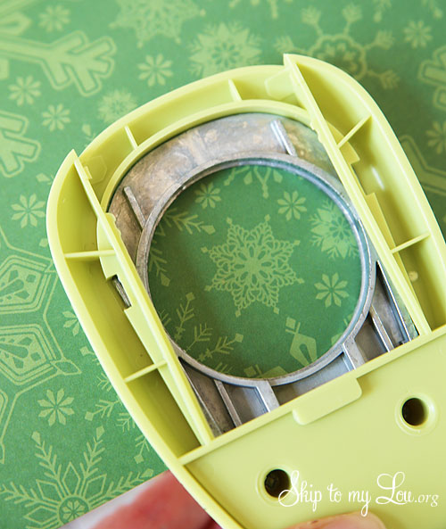 recycled advent calendar making tops