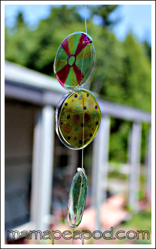 hanging sun catcher