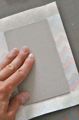 tutorial covered chipboard book