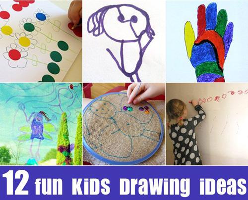12 Fun Kids Drawing Ideas
