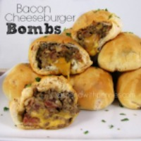 200 Bacon Cheeseburger Bombs