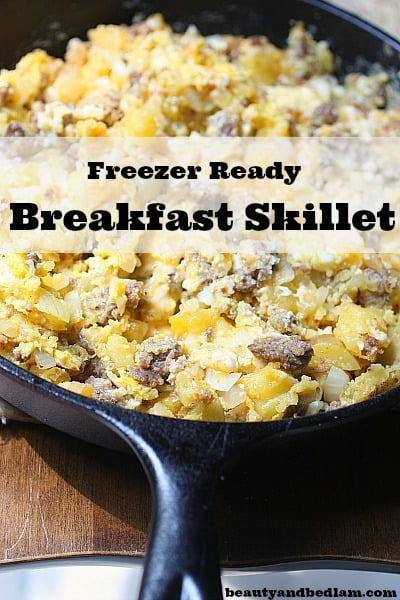 breakfast in skillet