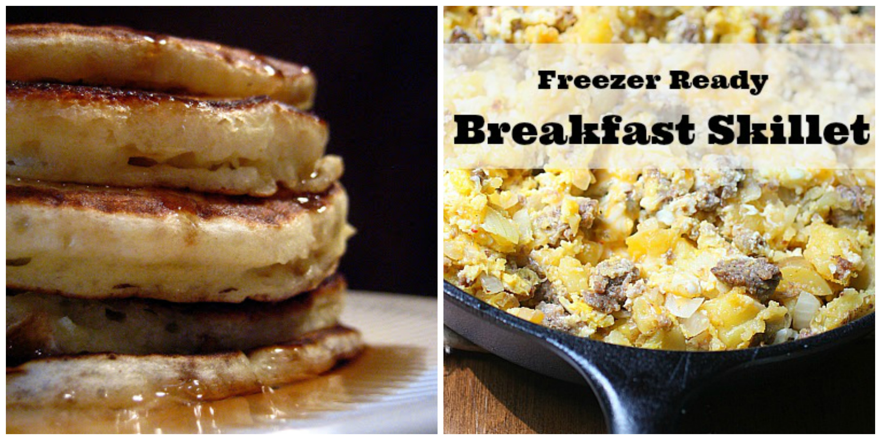 freeze ahead breakfast skillet