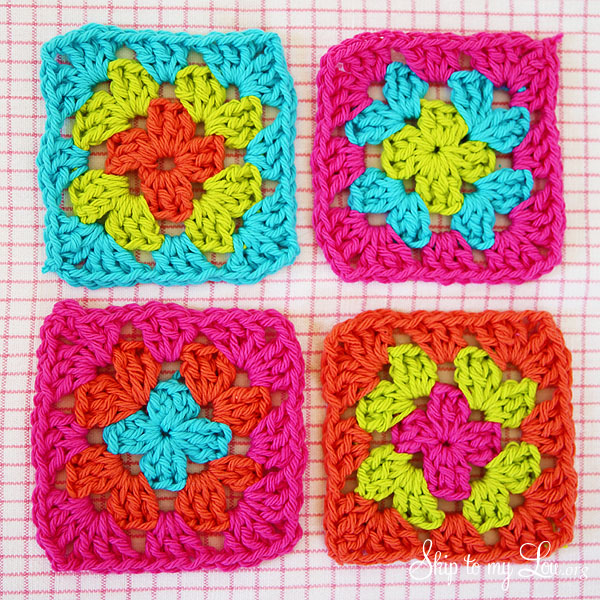 Crocheting Granny Squares Together : granny squares