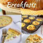 make ahead breakfasts Pinterest Graphic