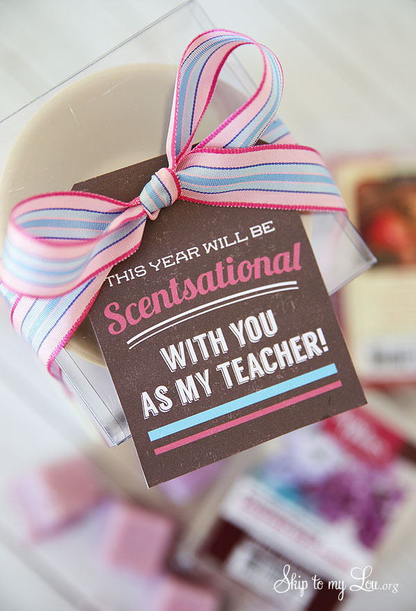 scentsational back to school teacher gift