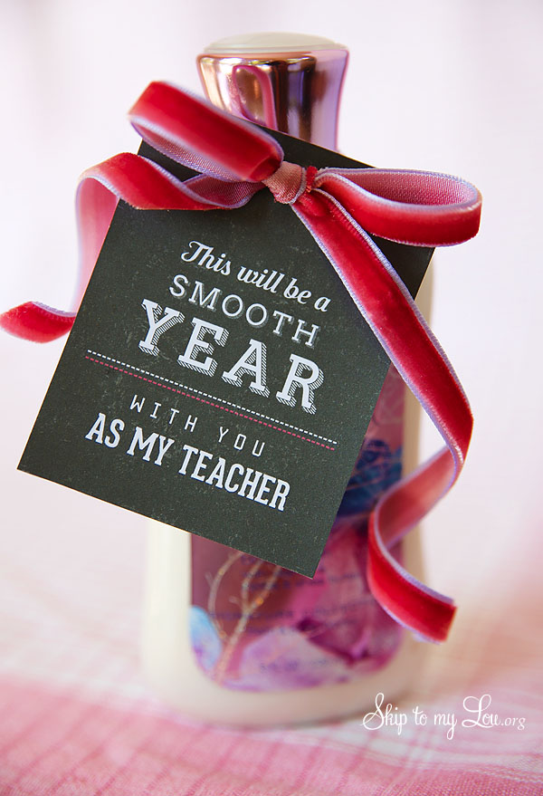 smooth year back to school teacher gift