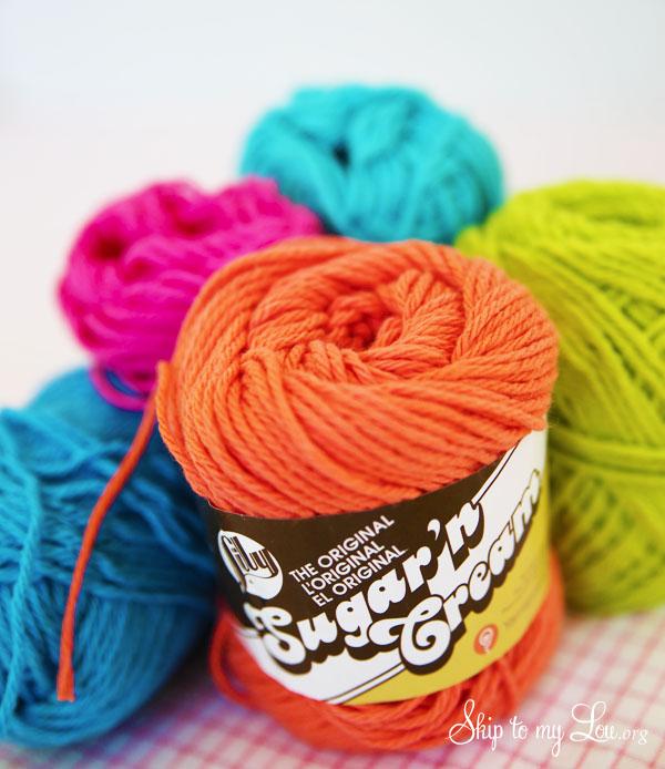 sugar n cream yarn