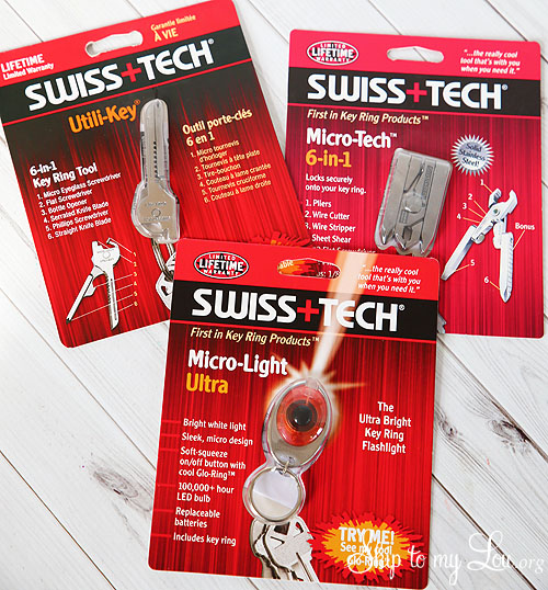 swiss tech key rings
