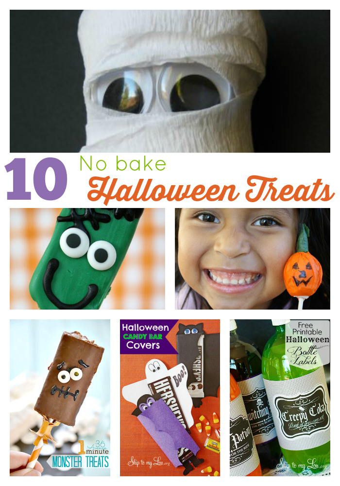 10 no bake halloween treats
