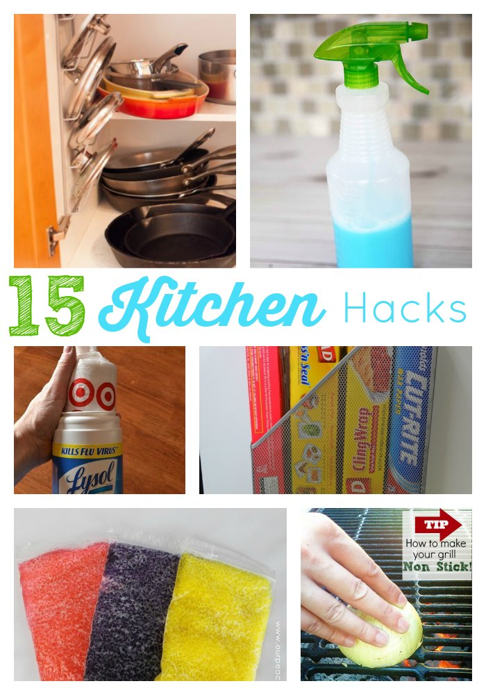 15 kitchen hacks