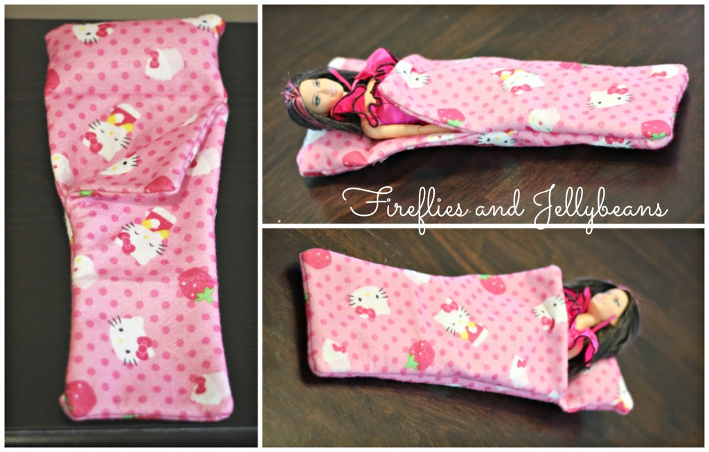 Barbie Doll Sleeping Bag 5