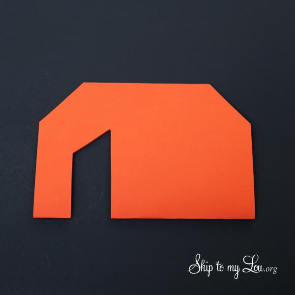 The Little Orange House Step 4