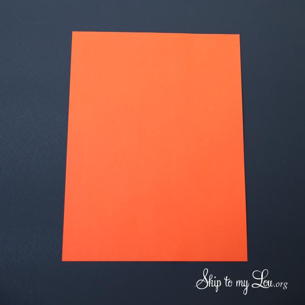 The Little Orange House step 1
