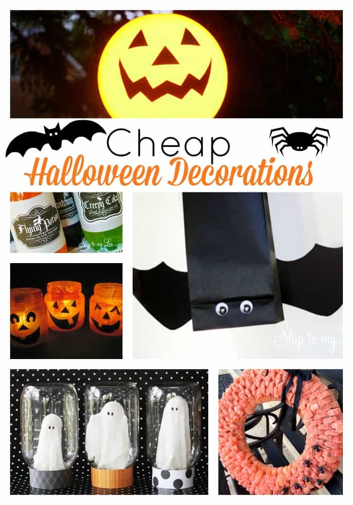 10 cheap halloween decorations skip to my lou Halloween decoration diy cheap
