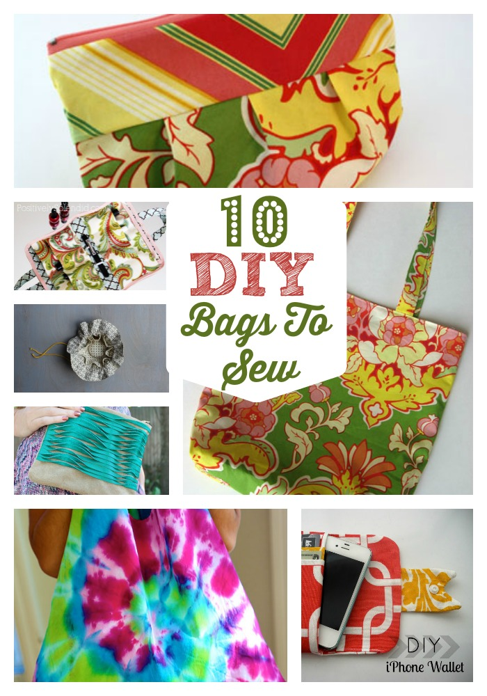 diy bags to sew