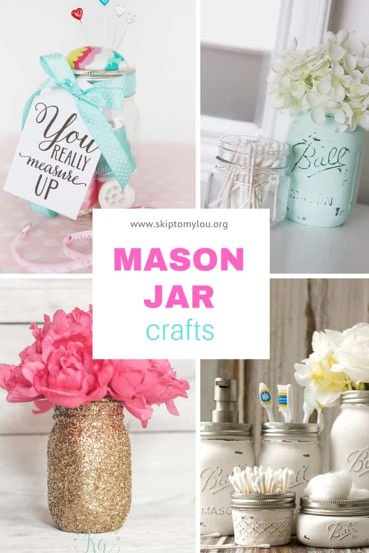 mason jar crafts pinterest image
