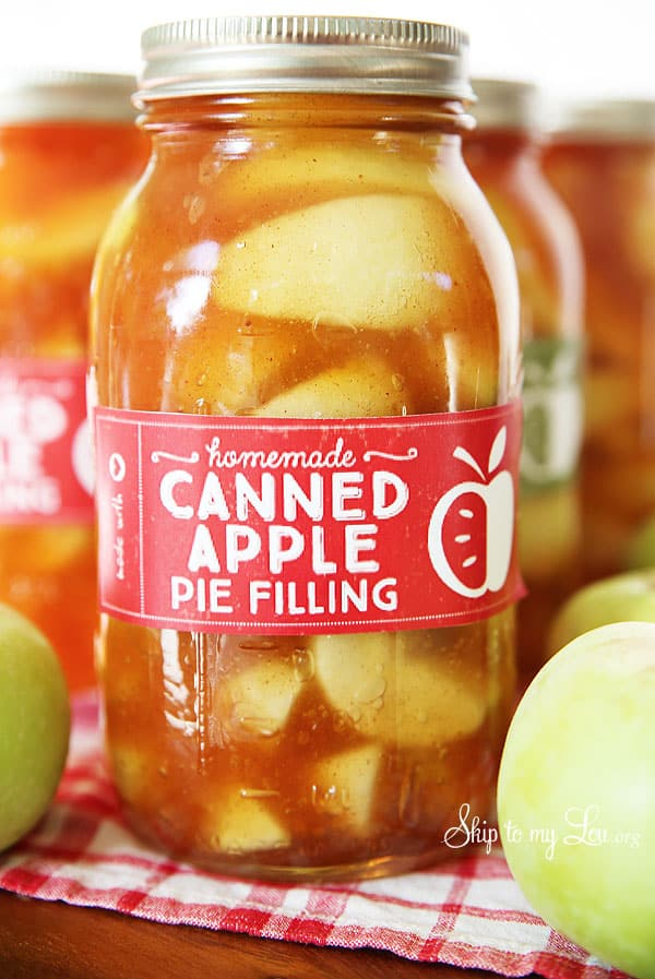 Free Scratch Cards >> Homemade Apple Pie Filling Recipe - Skip to my Lou