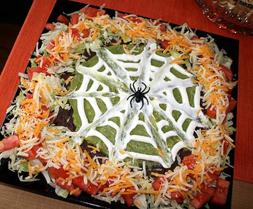 halloween nachos