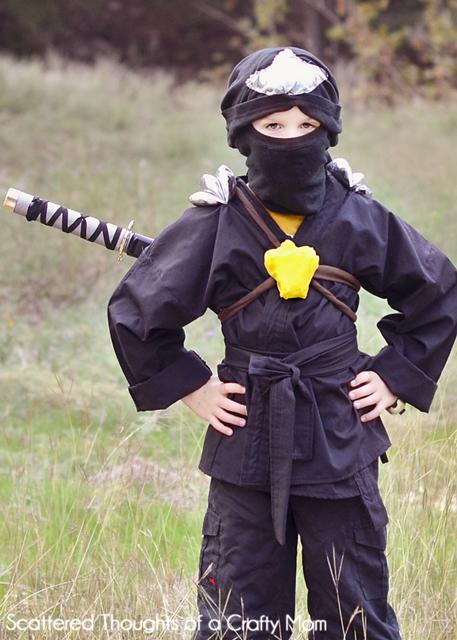 DIY Ninjago Ninja Costume