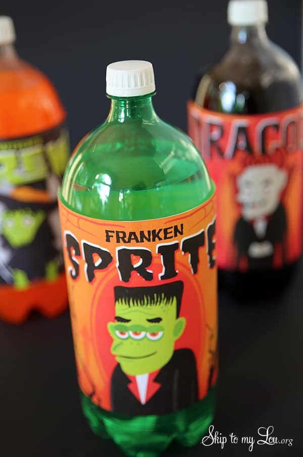 Free Printable Halloween Bottle Labels Skip To My Lou