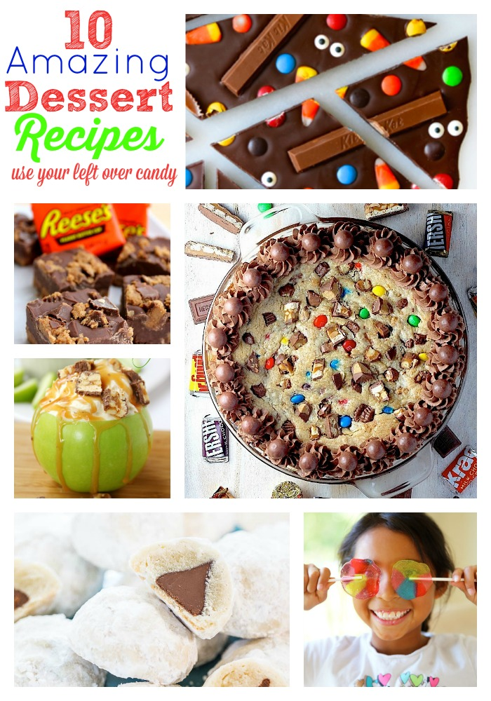 10 Amazing Dessert Recipes from left over Halloween Candy   Skip To