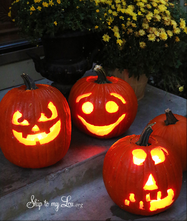 Elegant Easy Pumpkin Carving Ideas Part 27
