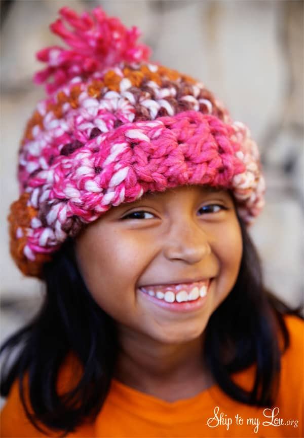 How to crochet a hat | Skip To My Lou