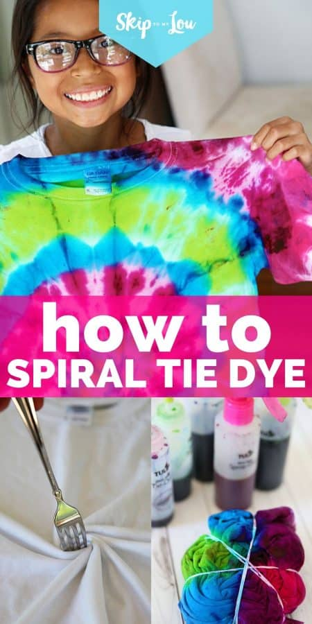 how to spiral tie dye PIN