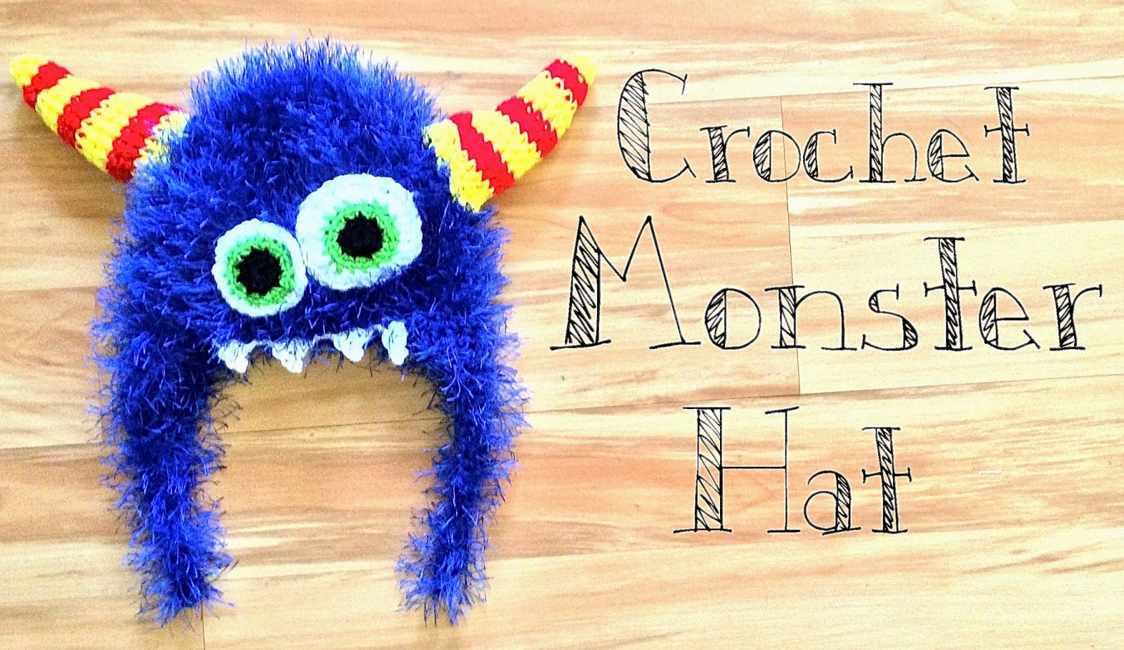 monster hat_with words