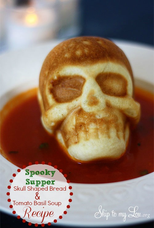 skull halloween dinner ideas