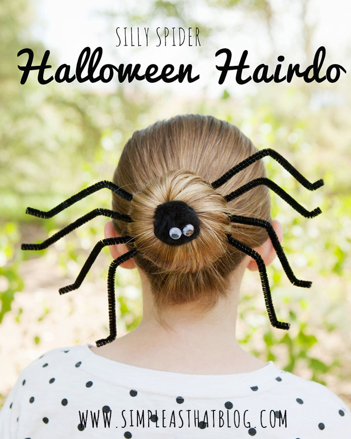 spider hair do