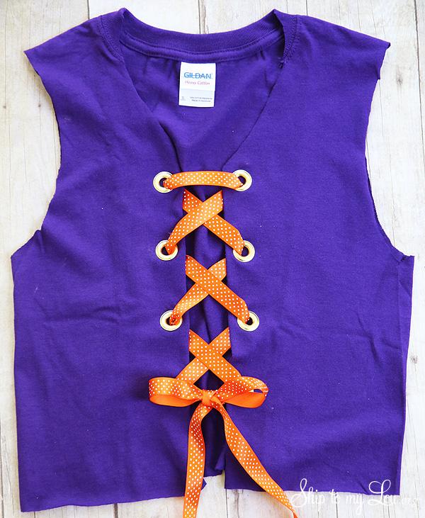 t-shirt to vest