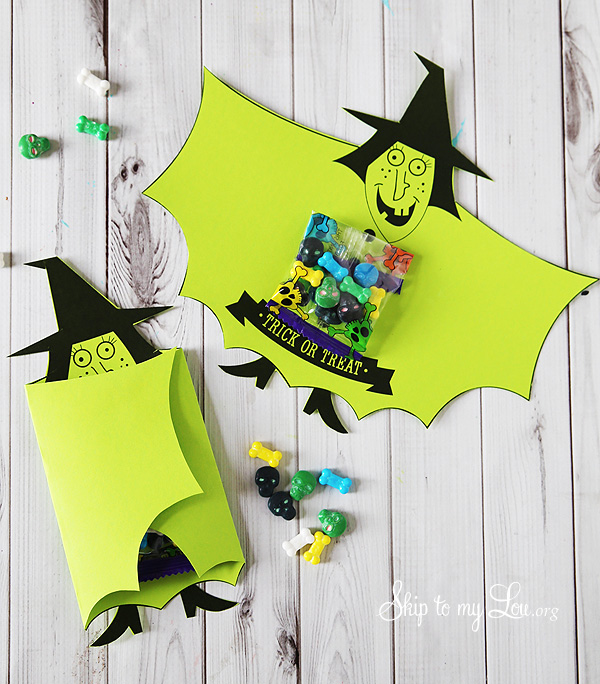 witch candy covers halloween printable