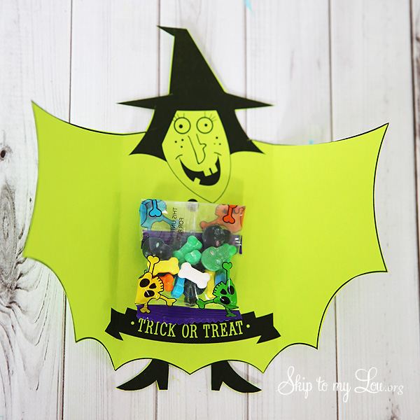 witch candy favors