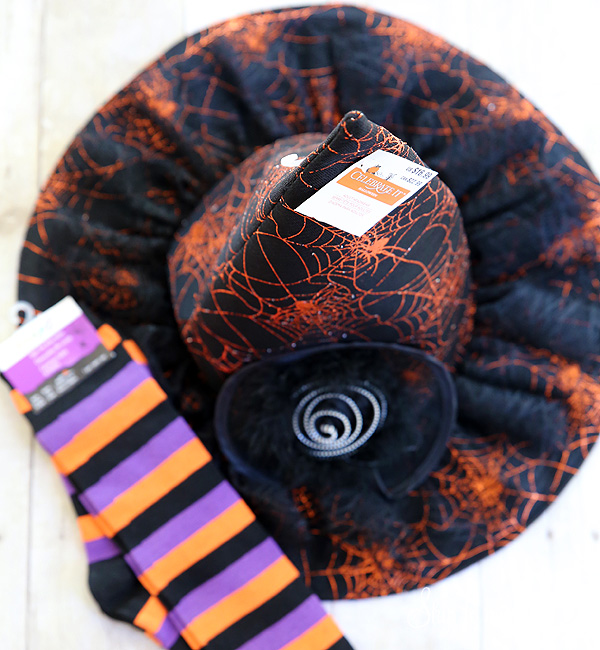 witch hat and socks Michaels