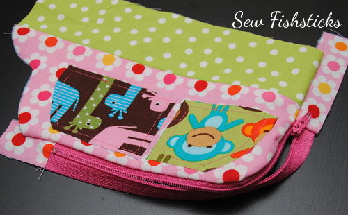 Jungle Jalopy Zippered Pouch