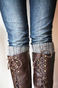 Cute And Easy Crocheted Boot Cuffs Skip To My Lou