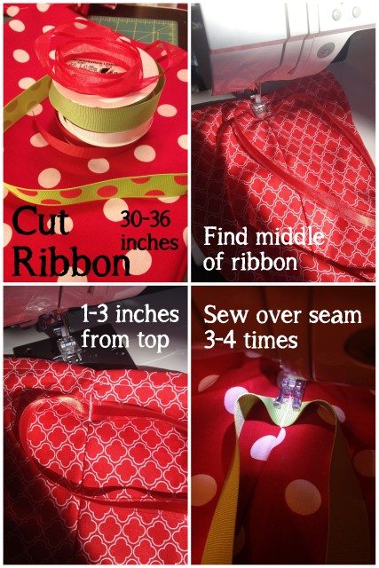 Christmas Bags Ribbon obSEUSSed