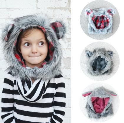 Fur Hood Tutorial + Pattern