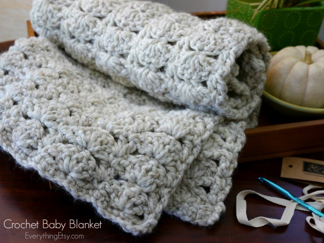 X Stitch Crochet Baby Blanket Pattern : Chunky Crochet Baby Blanket Skip To My Lou