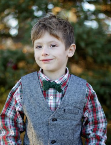 Crochet Bow Tie Pattern by Micah Makes