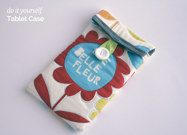 Do-it-yourself-tablet-case
