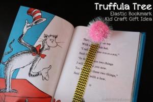 Elastic Bookmark Truffula Tree Gift obSEUSSed